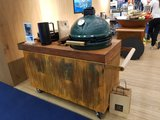 OFYR KAMADO TABLE CORTEN PRO TEAK WOOD BGE combi DEAL !!!_