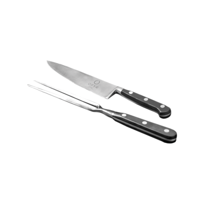 KNIFE & FORK SET set of two pieces