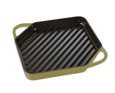 Grill pan 25cm – Olijfgroen