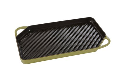 Grill pan 42cm – Olijfgroen