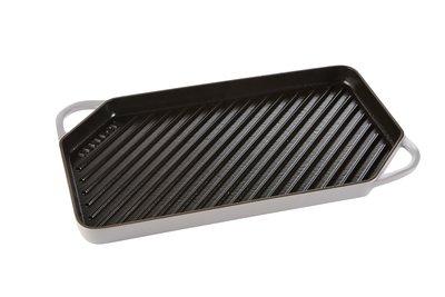 Grill pan 42cm – Zijdegrijs