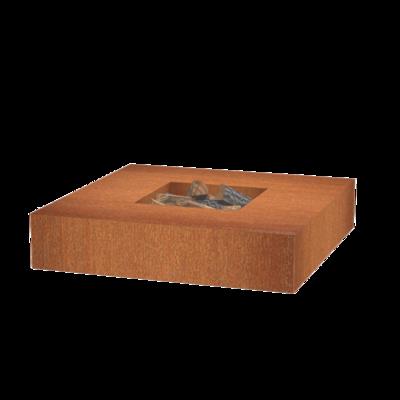 VLS3 vuurtafel cortenstaal 120x120 cm