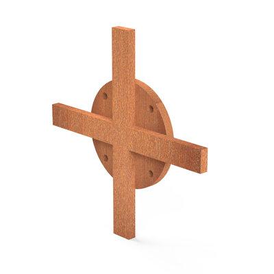 Bunke BBS houtopslag verbinding kruis