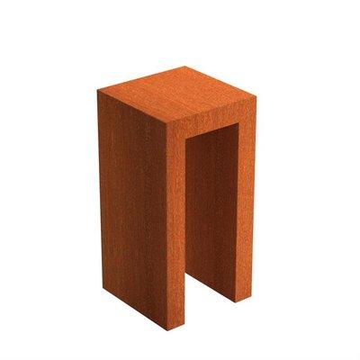 CKU1 U Sokkel corten 50x50 cm