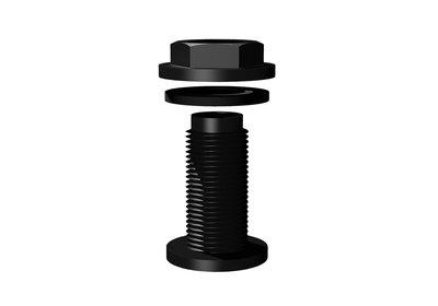 Overlooppijp Ø22mm / H50cm