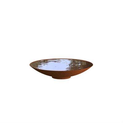 WNS3 waterschaal cortenstaal Ø100 cm