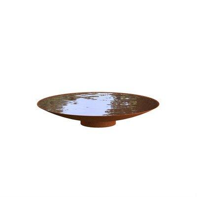 WNS4 waterschaal cortenstaal Ø120 cm