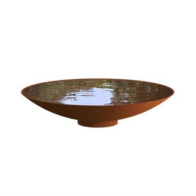 WNS5 waterschaal cortenstaal Ø150 cm