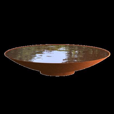 WNS6 waterschaal cortenstaal Ø200 cm