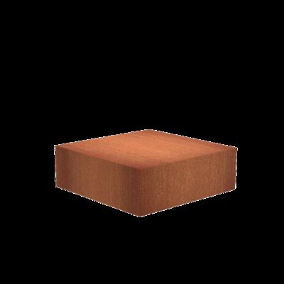 CK20 Sokkel corten 120x120 cm